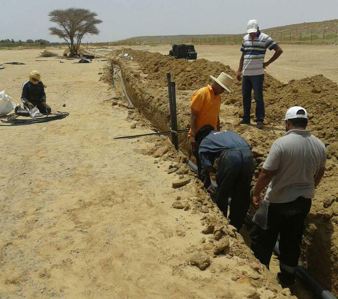 Installation Irrigation automatique à Marrakech    Automatic Irrigation System in Marrakech