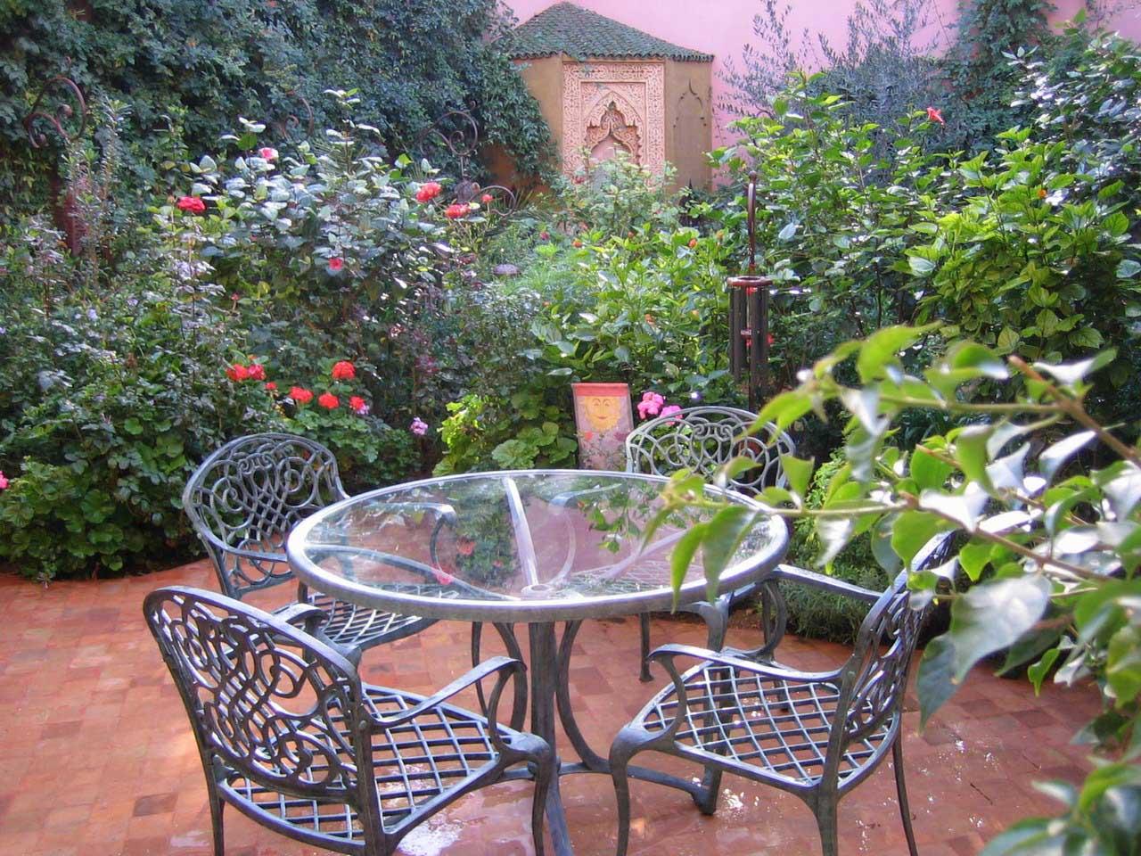 Aménagement des balcons et terrasses à Marrakech    Designing balconies and terraces in Marrakech