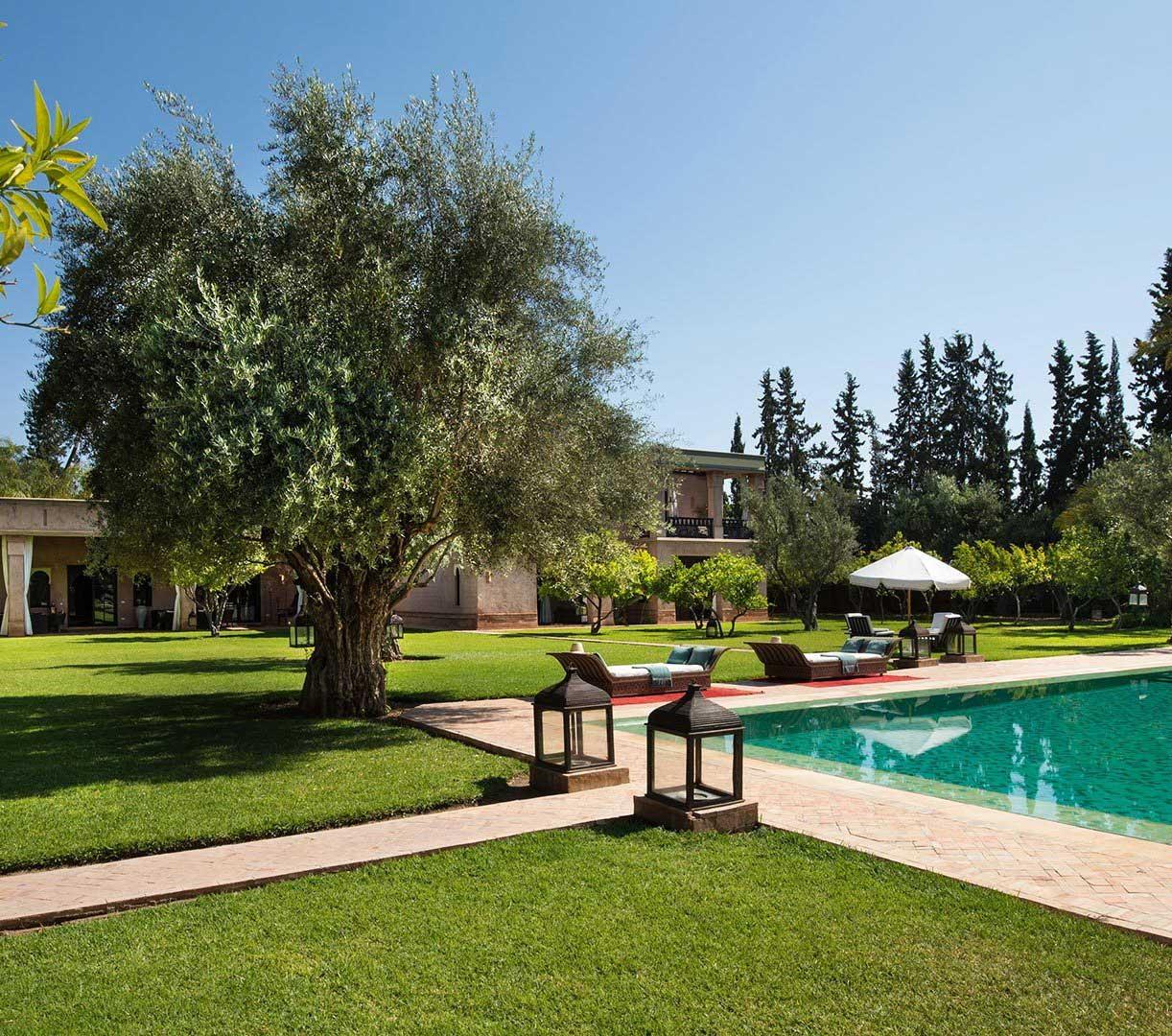 Entreprise d'aménagement et entretien des jardins à Marrakech