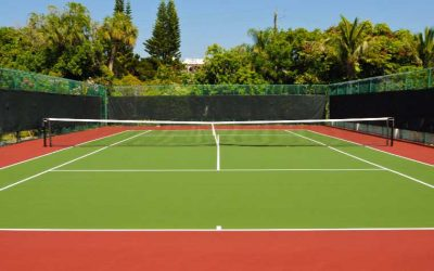 Réalisation et réfection des court de tennis à Marrakech || Realization and repair of tennis courts in Marrakech7