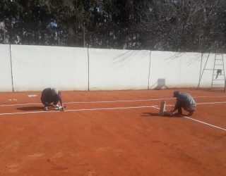 Réalisation et réfection des court de tennis à Marrakech || Realization and repair of tennis courts in Marrakech